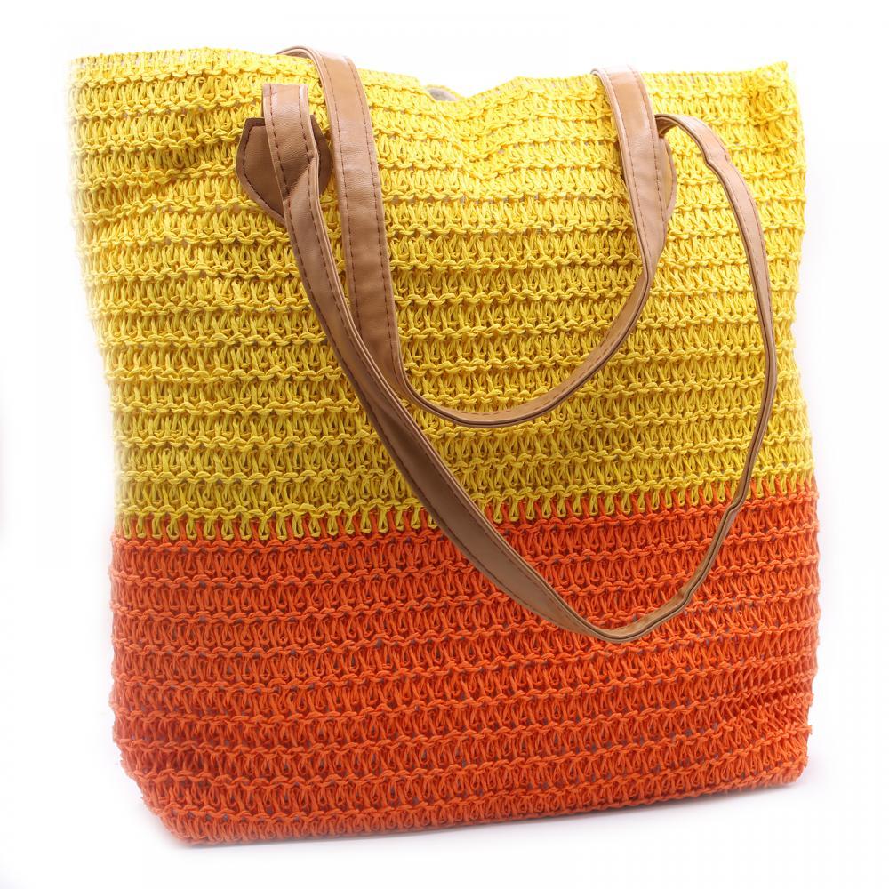 Back to the Bazaar Bag - Yellow & Orange