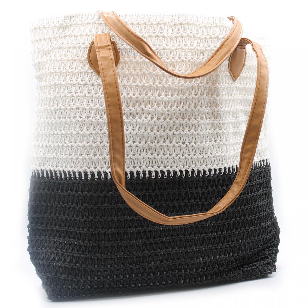 Back to the Bazaar Bag - Black & White