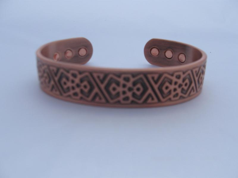 Copper Magnetic Health Bangle