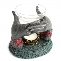 Offering Hands Oil Burner