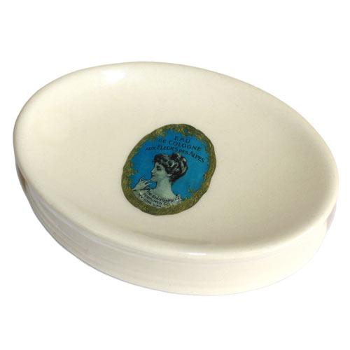 Eau De Cologne - Ceramic Soap Dish