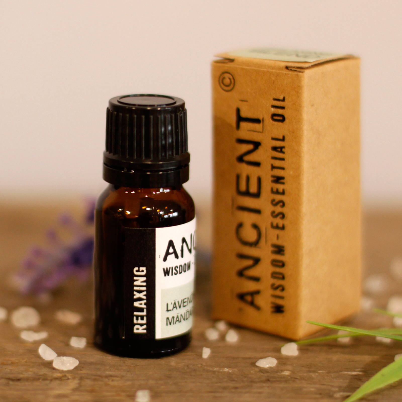 Relaxing Essential Oil Blend - Boxed - 10ml
