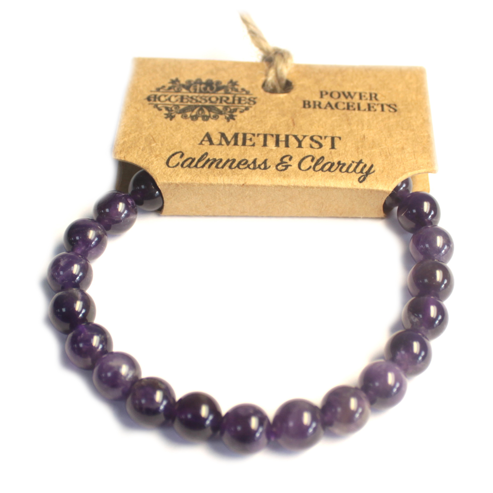 Power Bracelet - Amethyst