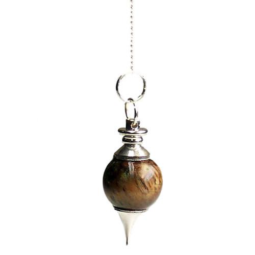 Tiger Eye Sphere Pendulum