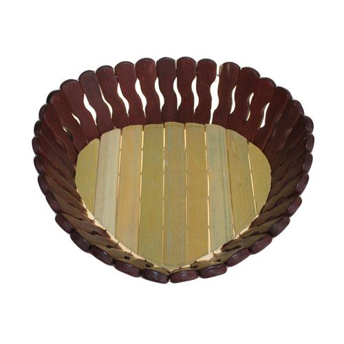 Bamboo Baskets - Small Heart