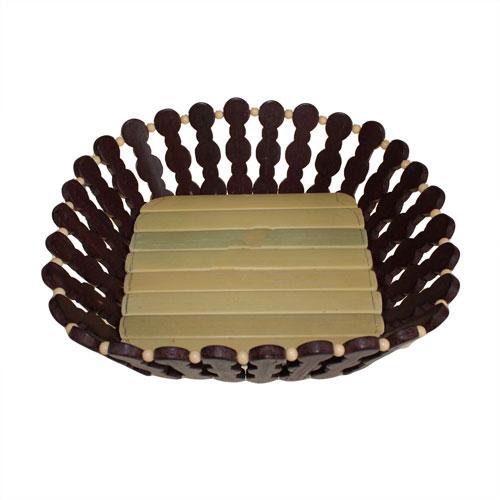Bamboo Baskets - Deep Medium Square
