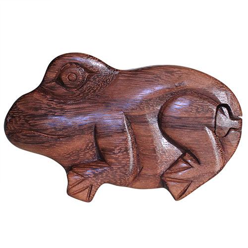 Bali Puzzle Box - Frog