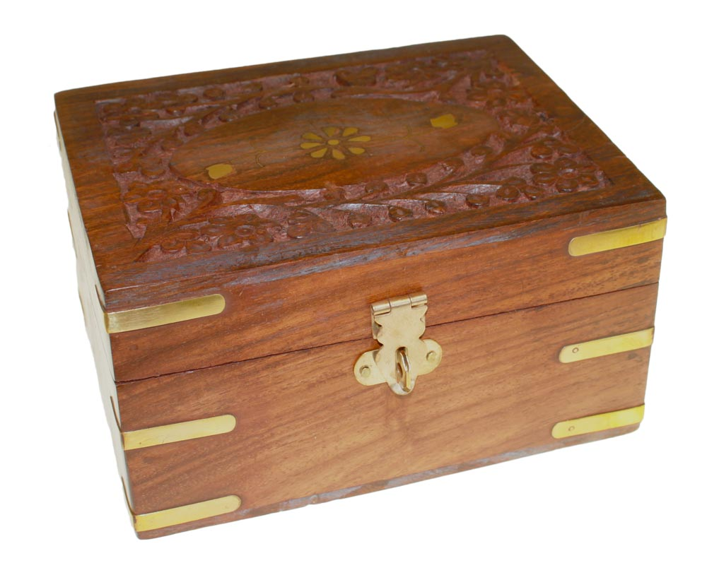 Aromatherapy Wooden Box-holds 12x10ml bottles