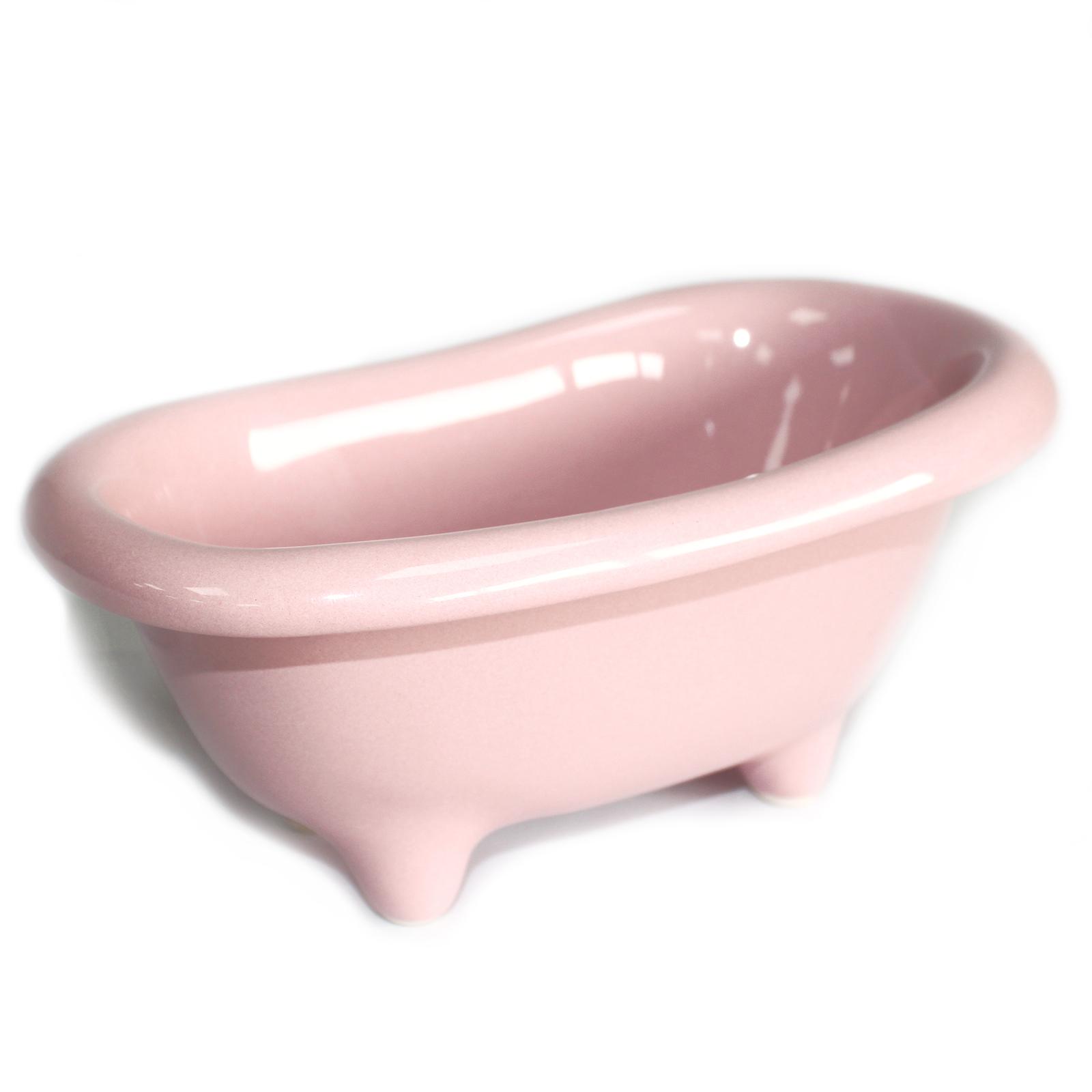 Ceramic Mini Bath - Rose