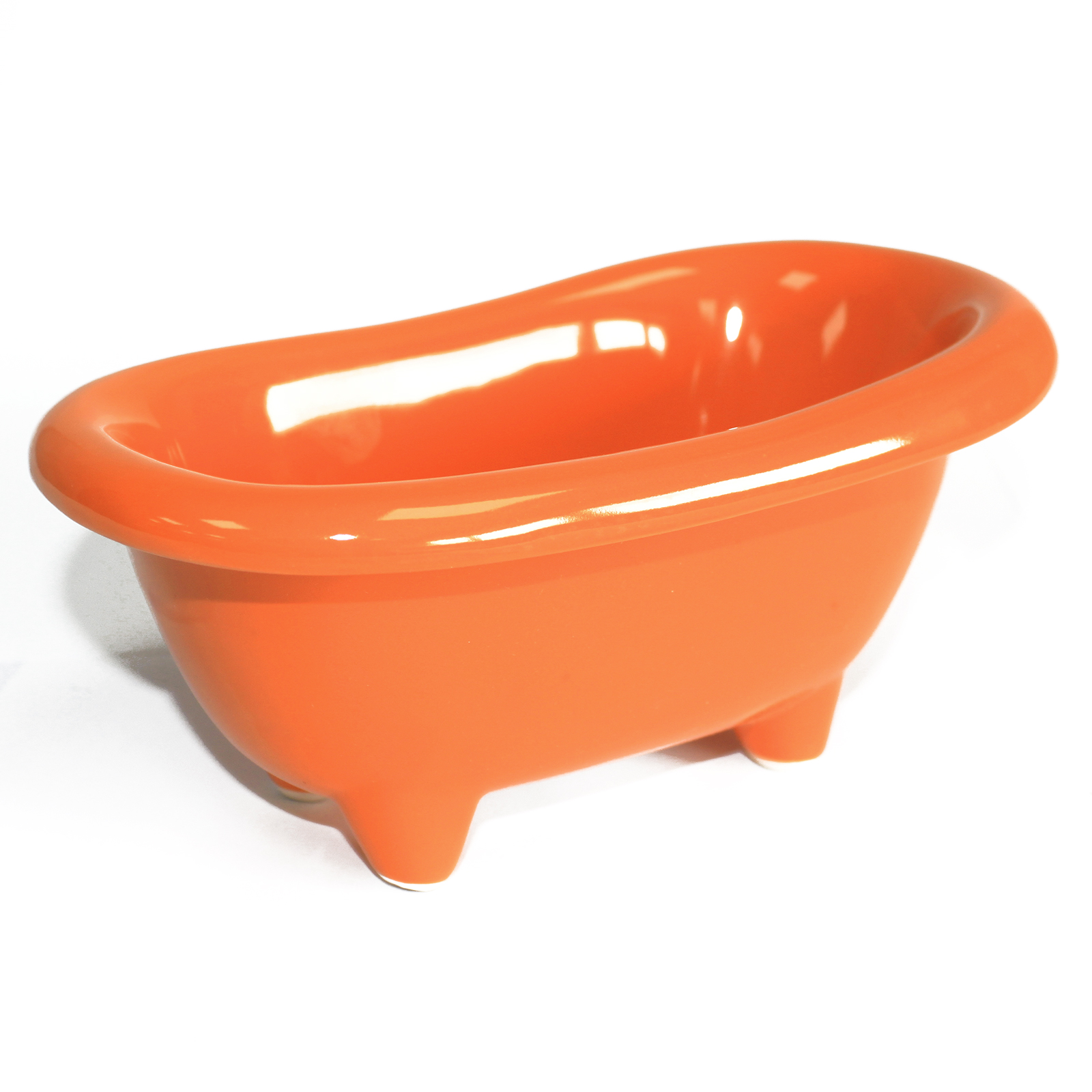 Ceramic Mini Bath - Orange