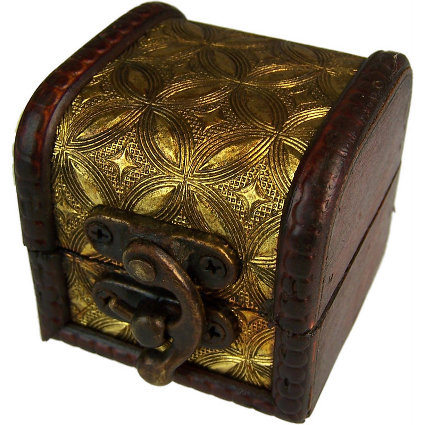 Mini Colonial Box - Gold