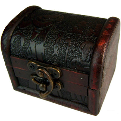 Med Colonial Box - Egypt Embossed