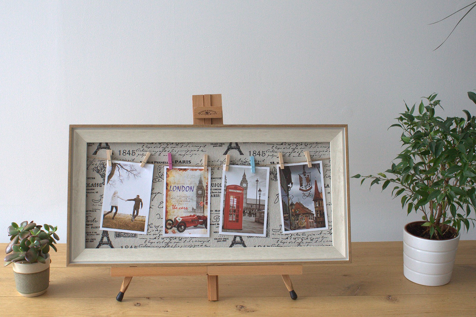 Med DIY Peg Photo Frames (30x60cm)- Paris