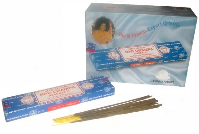Nag Champa Incense Sticks 40g pack