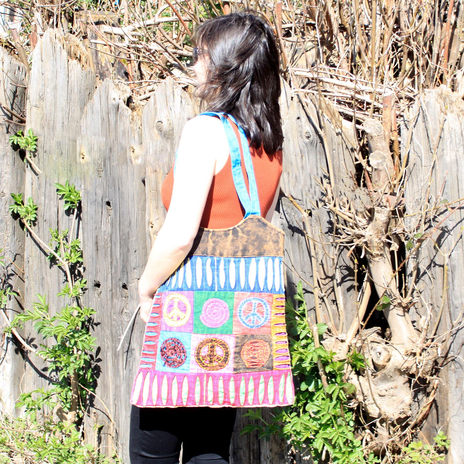 Classic Peace Skirt Bags (asst des)