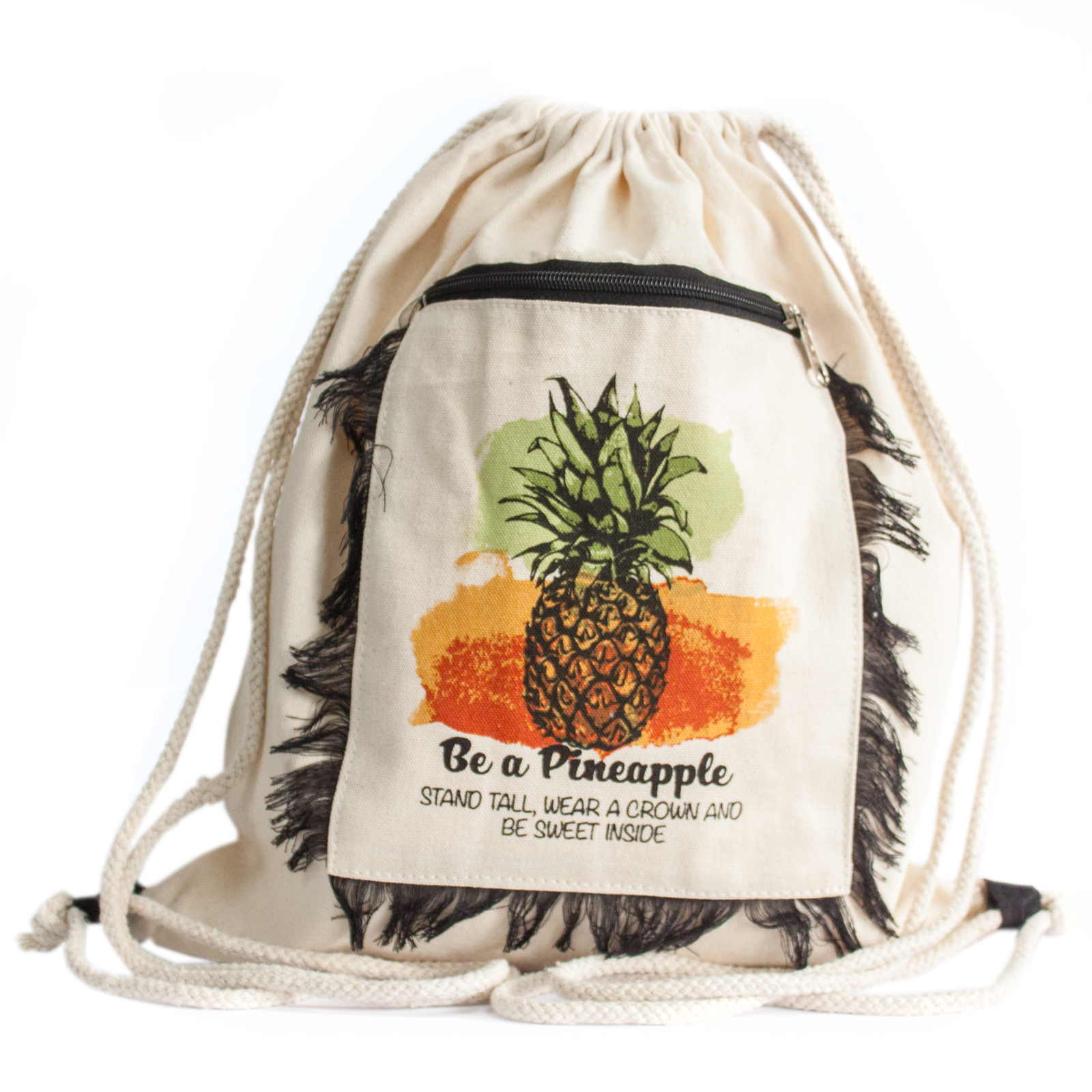 Funky Fringe Backpack - Pineapple
