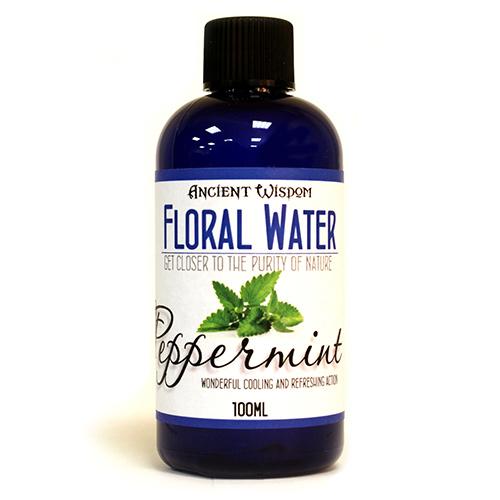 Peppermint Flower Water