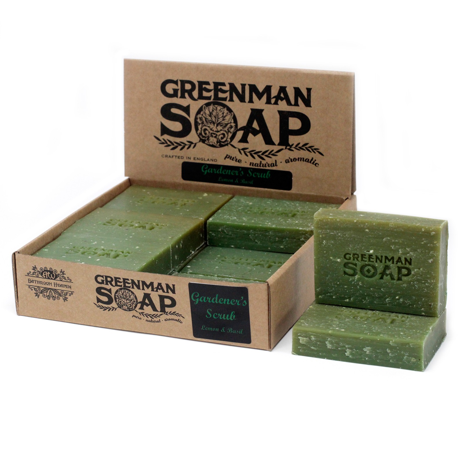 Greenman Soap 100g - Gardener's Scrub