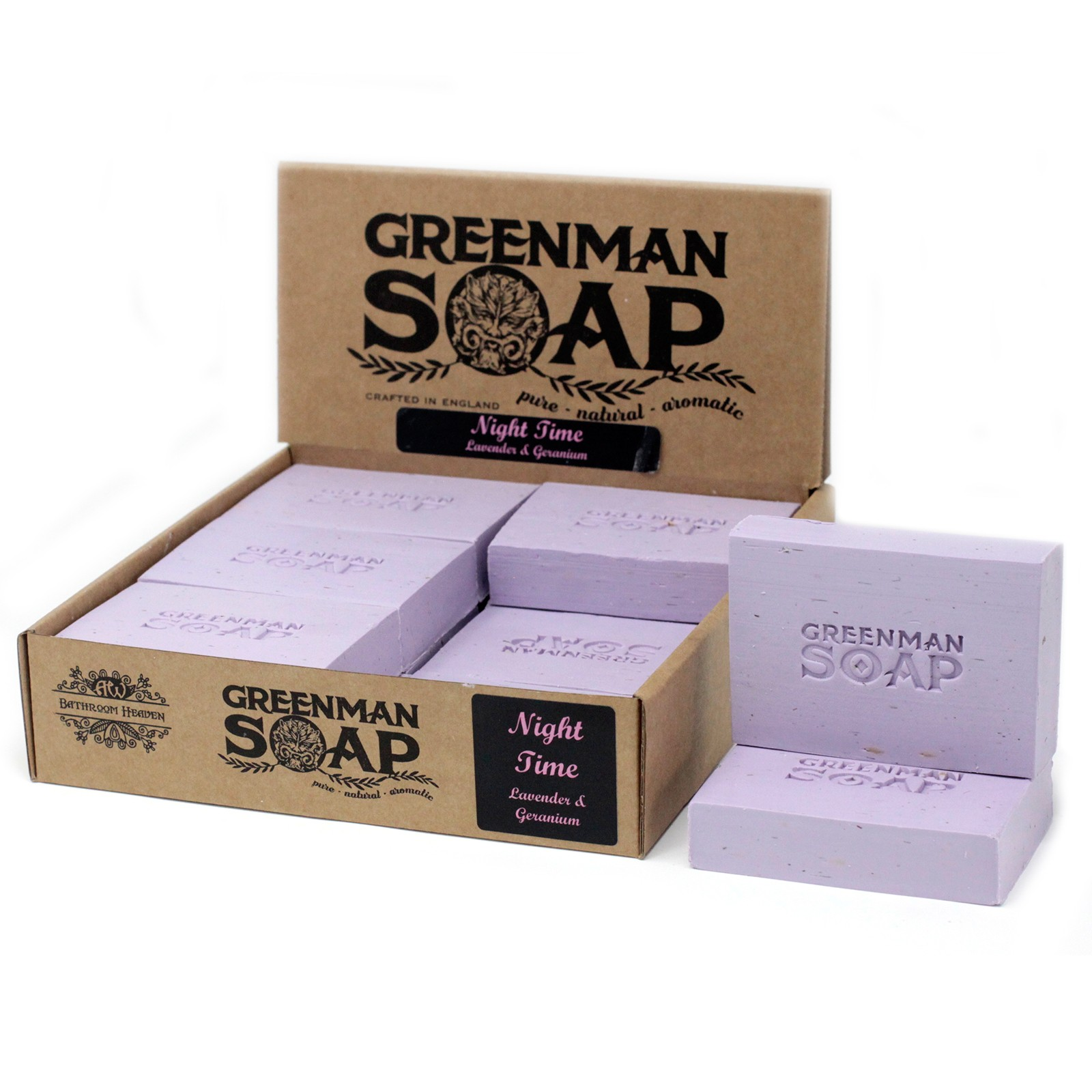 Greenman Soap 100g - Night Time