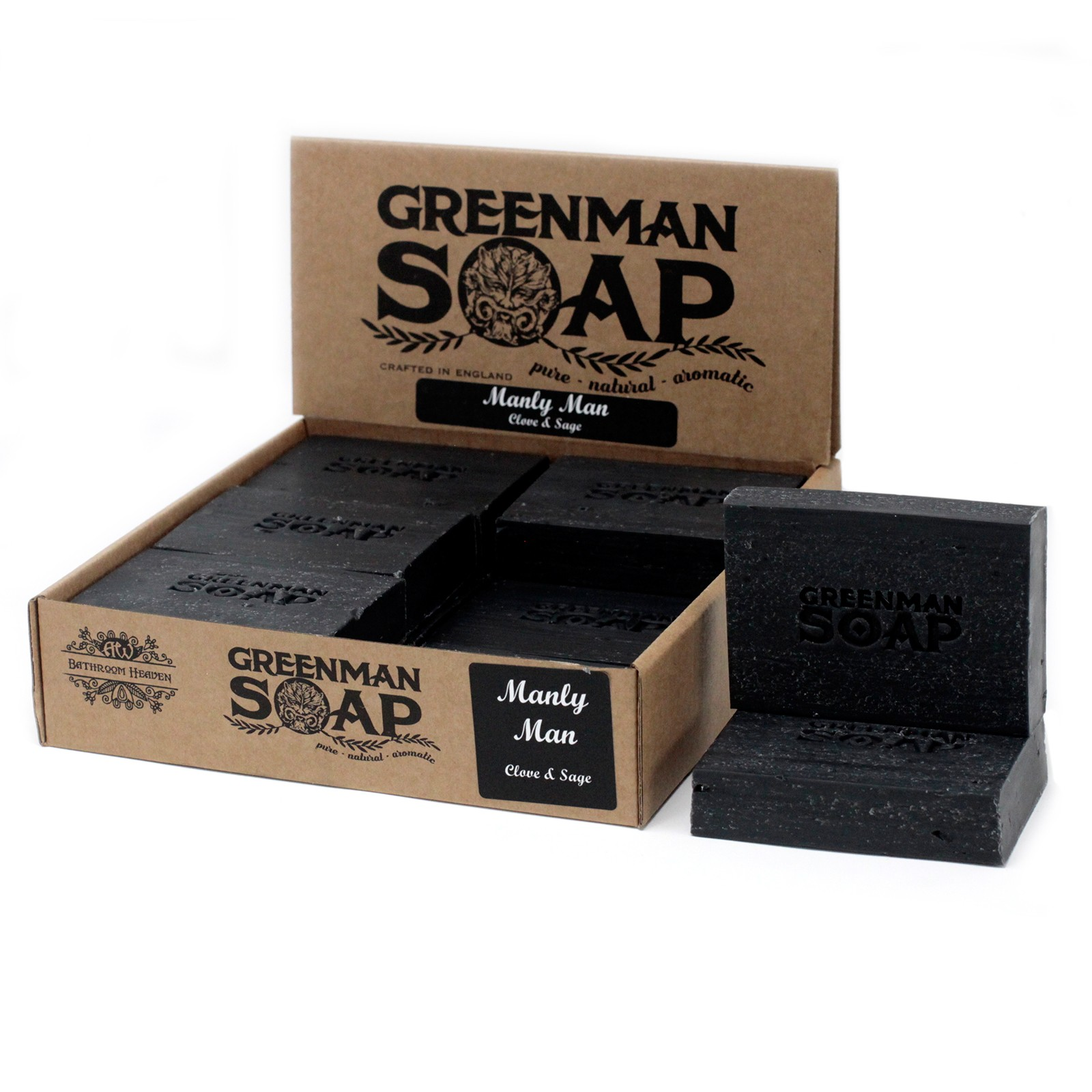 Greenman Soap 100g - Manly Man