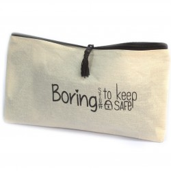 Get Organised Pouch -Boring Stuff to Keep Safe