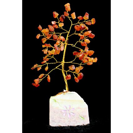 Carnelian Gemstone Tree (80 Stone)