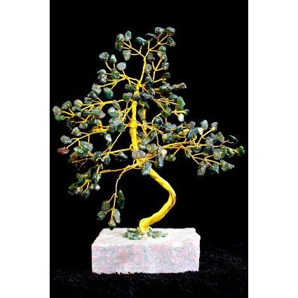 Moss Agate Gemstone Tree (160 Stone)