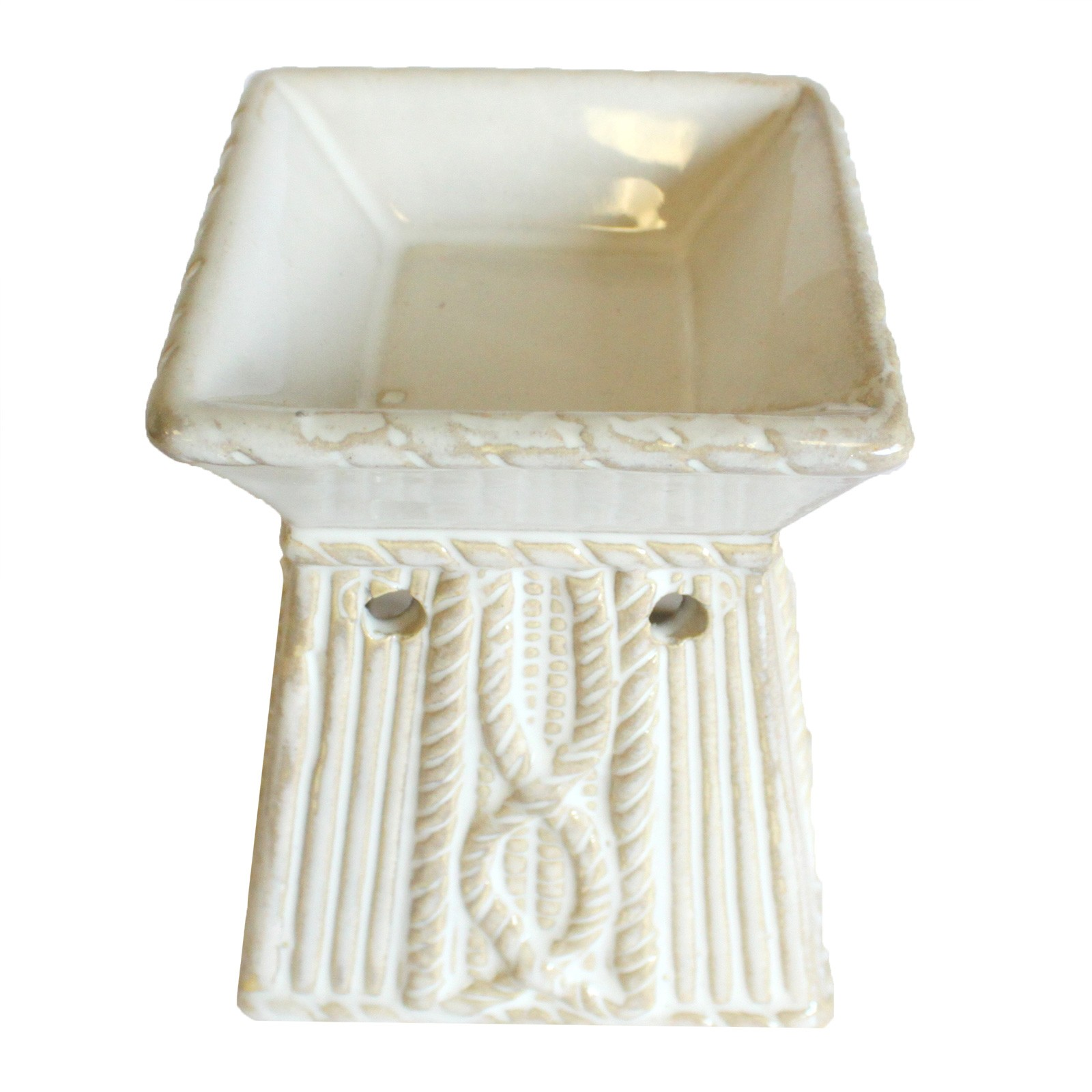 Venetian Square Rope Design Oil Burner