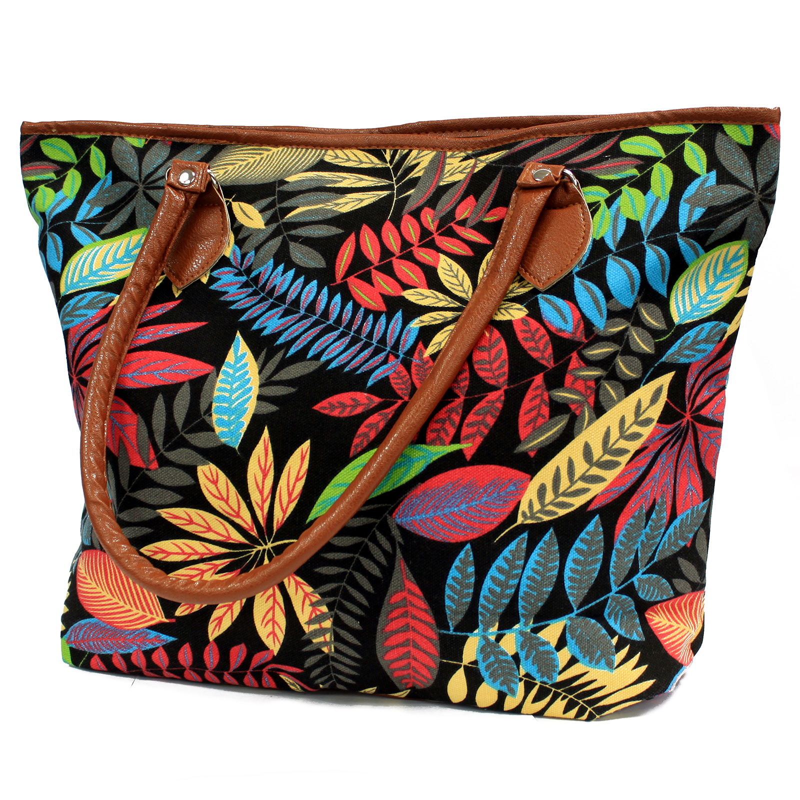 Jungle Bag - Tote Shopping - Black/Orange
