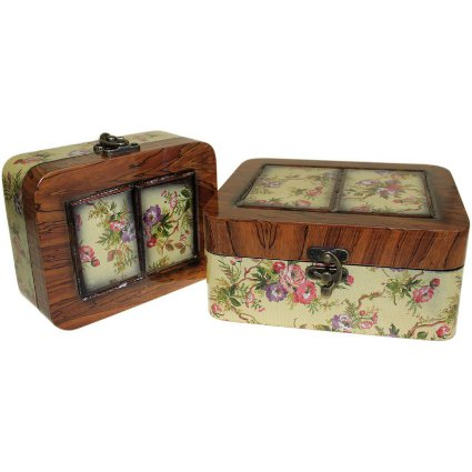 Set of 2 Boxes - Small Victorian