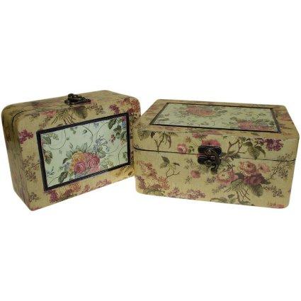 Set of 2 Boxes - Med Victorian