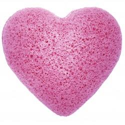 Japanese Konjac Heart Sponge - Lavender