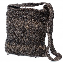 Crocheted Sling Bags - Moss Brown (Assorted Colours)