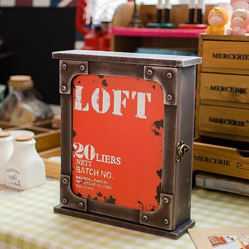 Loft Key Box - Red