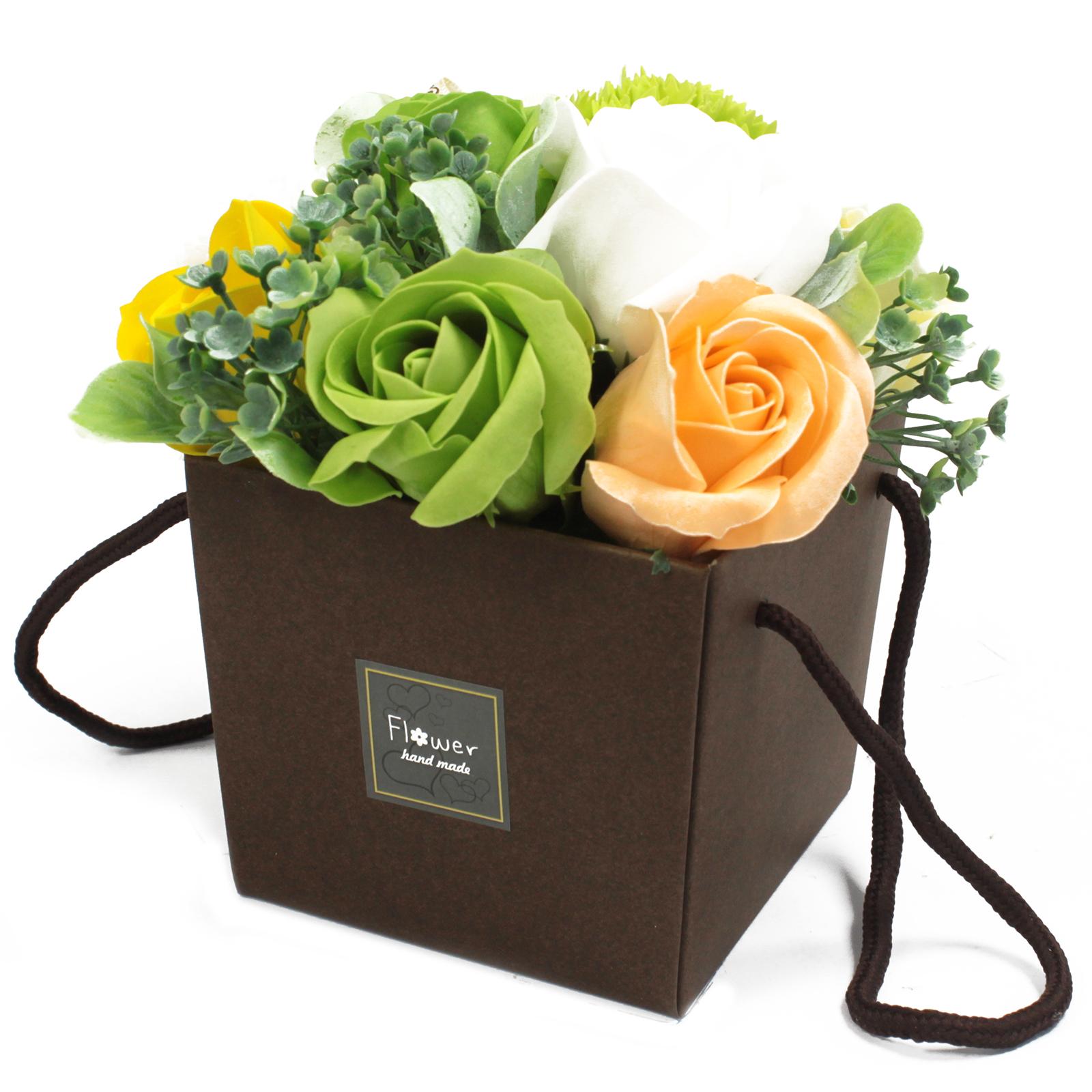 1x Soap Flower Bouqet - Spring Flowers