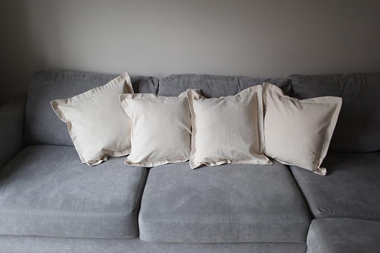 Nautical Cushion Covers - Plain Design