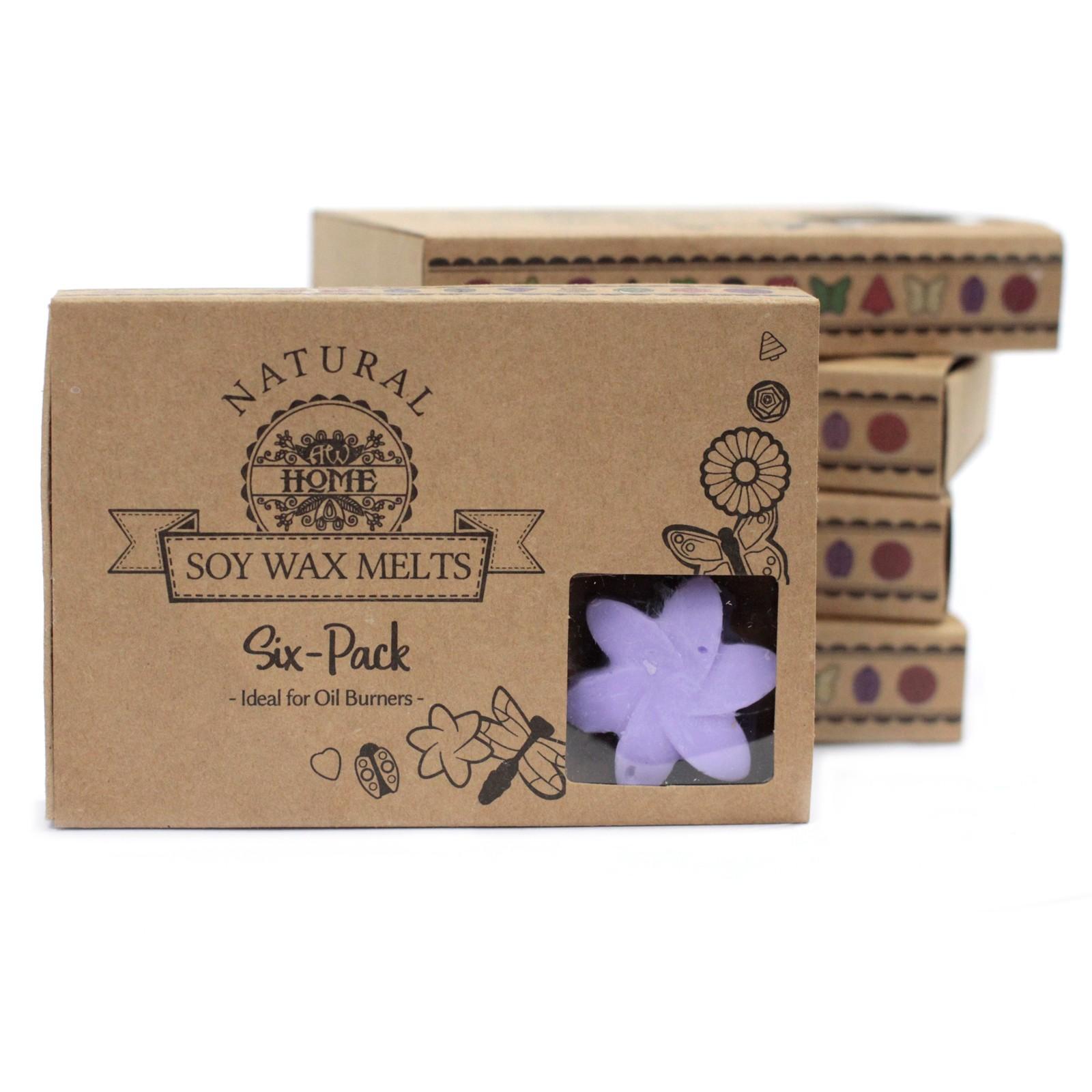 Box of 6 Wax Melts - Lavender Fields