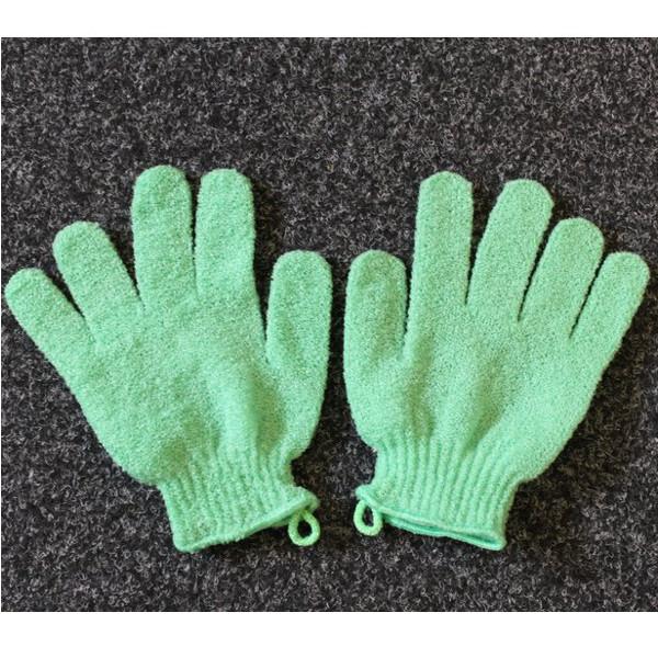 Exfoliating Gloves - Green