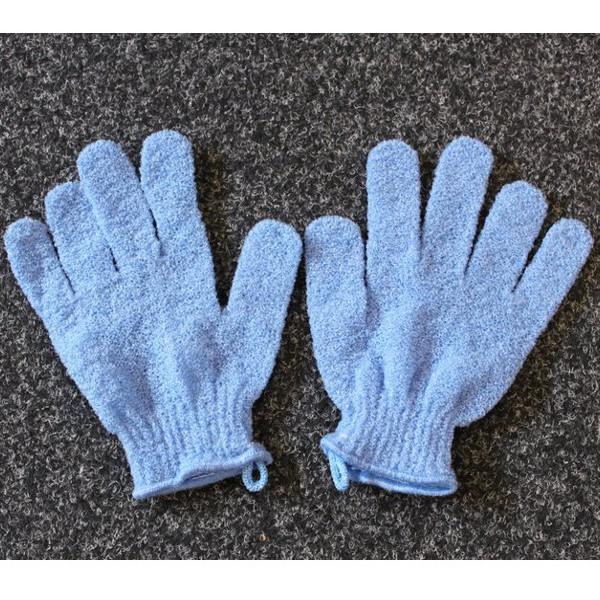 Exfoliating Gloves - Blue