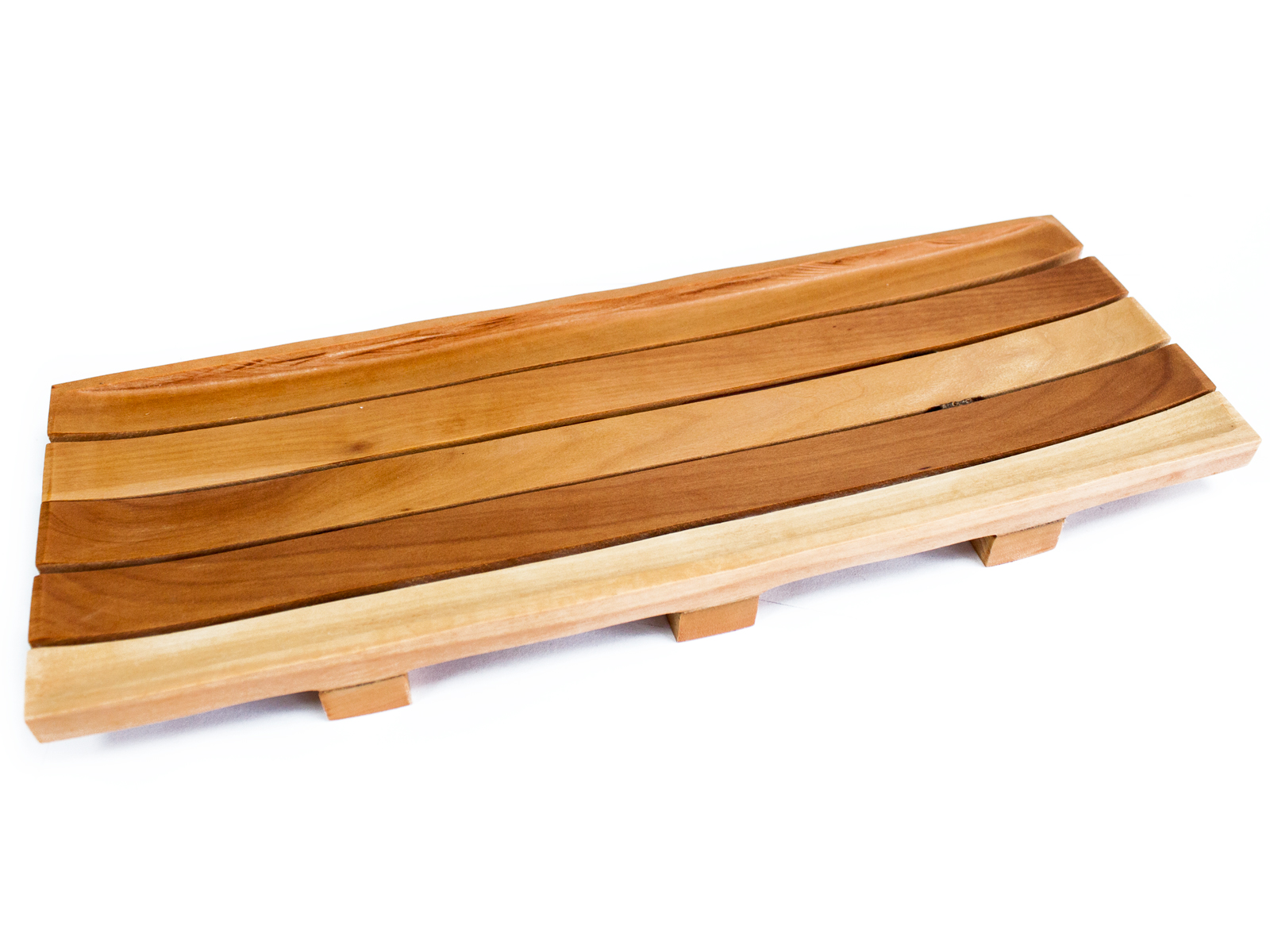 Long Mahogany Soap Tray