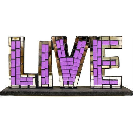 Mosaic Standing Sign - Live