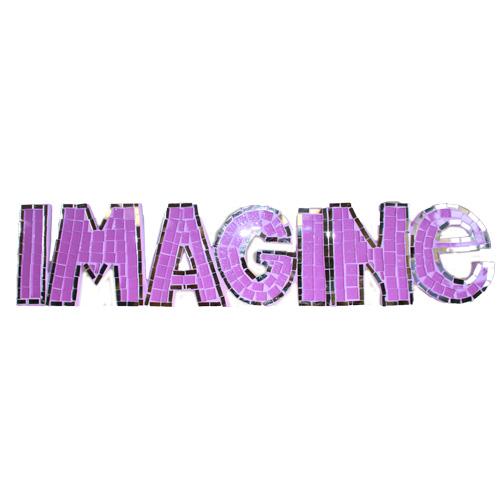 Mosaic  - Imagine - Purple