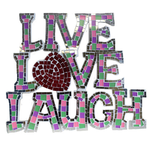 Mosaic  - Live/Love/Laugh - Multi