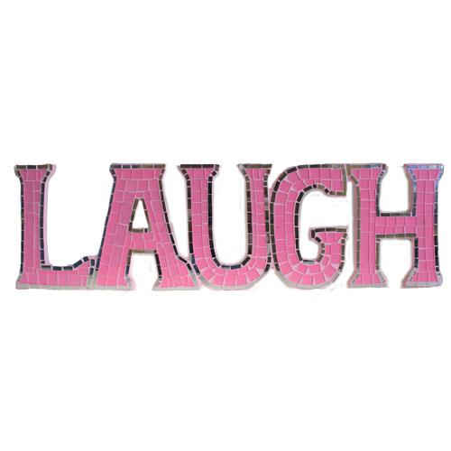 Mosaic  - Laugh - Pink