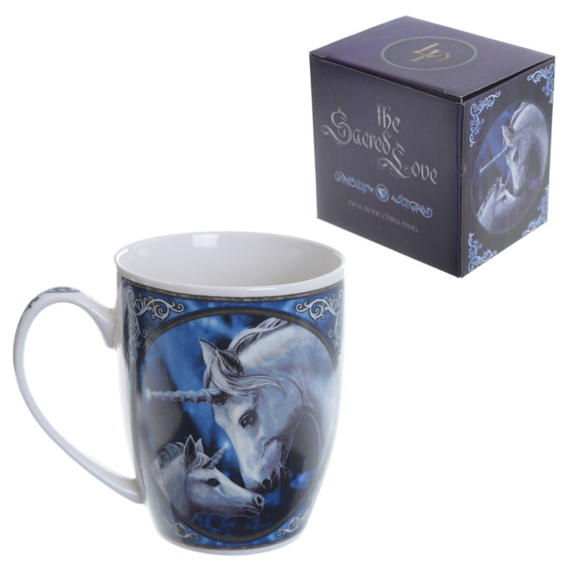Lisa Parker The Sacred Love Unicorn Bone China mug