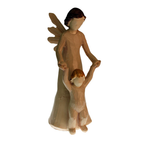 Lrg Natures Angels - Mother & Small Boy