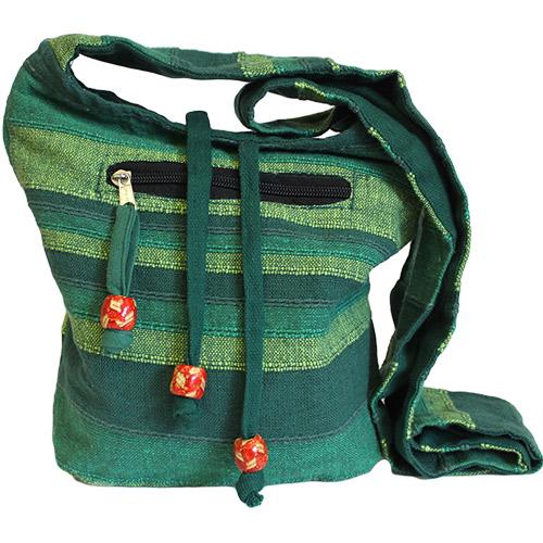 Nepal Sling Bag - Forest Green