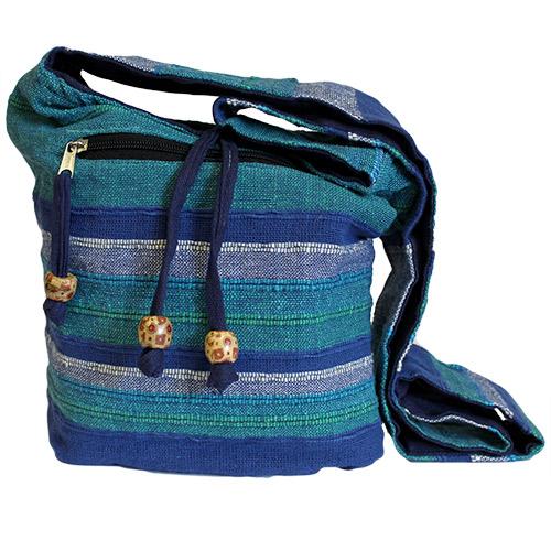 Nepal Sling Bag - Blue Rivers