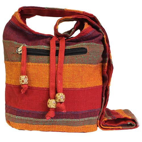 Nepal Sling Bag - Sunset Reds