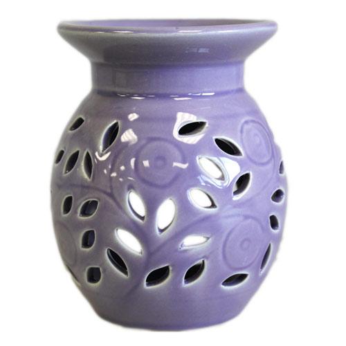 Floral Oil Burner - lavender